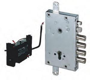 Автоматичическое электромоторное замковое устройство